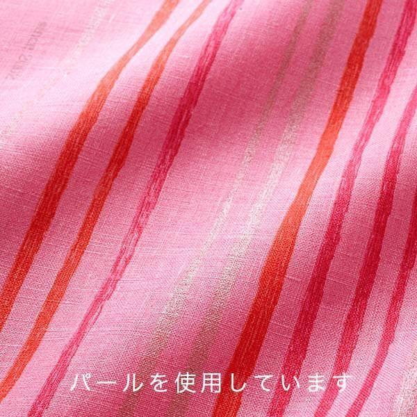 Nani Iro Kokka Japanese Fabric Saaaa Saaa linen - Otoha metallic