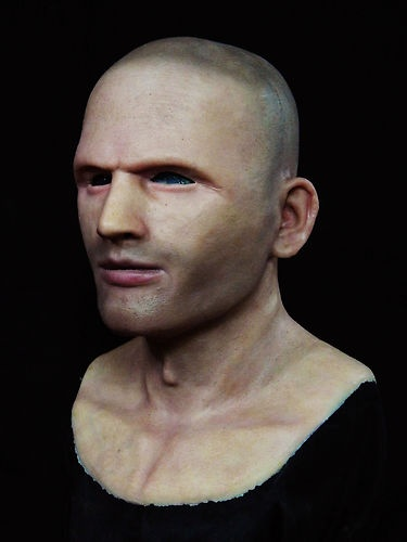 """US $429.99 """"Chris"""" The Guy SILICONE MASK - Realistic Halloween Mask"""