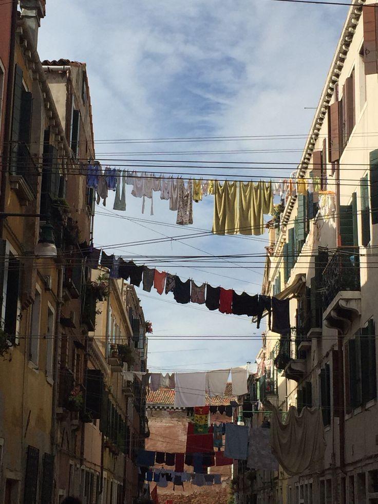 Washing day , Venice