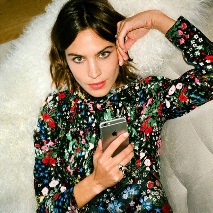 "not-a-ccoconut: "" Alexa Chung by Aaron Stern """