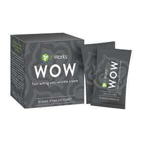 It Works! WOW - Removes eye bags, crows feet, smile lines etc from the face in 90 sec