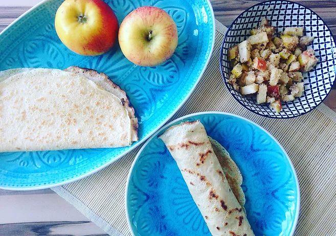 Cooking Bakery | Palatschinken mit Apfel-Nuss-Fülle