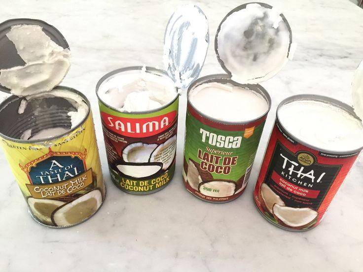 Comment faire de la crème fouettée de lait de coco | K pour Katrine