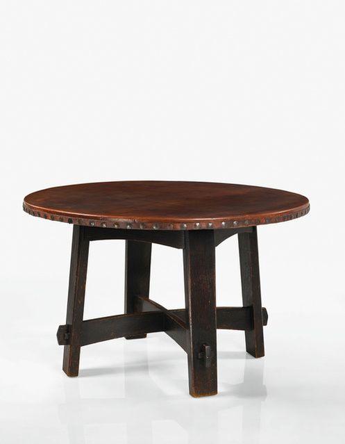 Großartig Gustav Stickley | A Rare Library Table, Model No. 407 (circa 1901)