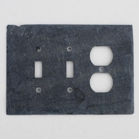 Decorative Wall Outlet Plates : Decorative double toggle light switch single outlet cover