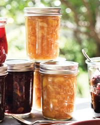 Triple Ginger Nectarine Jam Recipe from Food & Wine. Another great canning project. two of my favorite flavors!