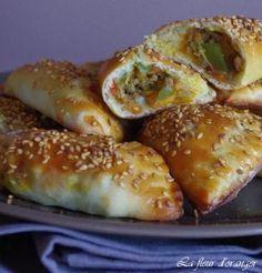 Chaussons+salés+sans+pâte+feuilletée