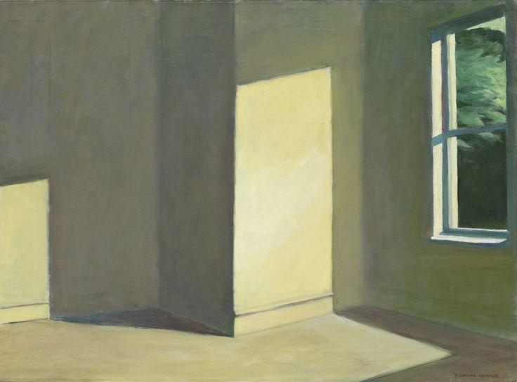 Edward Hopper- Sun in an Empty Room (1963)