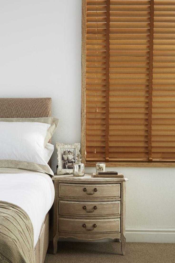 Wooden Blinds Bedroom