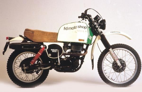 Cyril Neveu, XT500 Paris Dakar (1979).