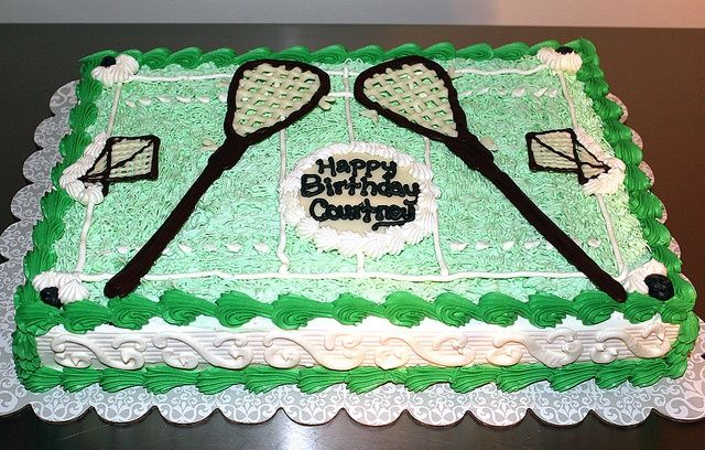 "lacrosse cake | Lacrosse Birthday Cake by Tony ""The ... 