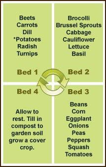 Crop Rotation-be sure to read the info here, on Organic Fertilizers, Insect Controls, ideal Plant and seed choices                                                                                                                                                                                 More