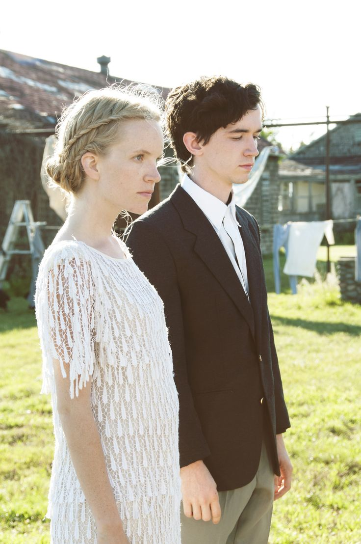 Liam Aiken and Tamzin Merchant in Let Me Down Easy