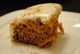 Cookin' Lean Like Paula Deen: Paula Deen's Lean: Pumpkin Bars
