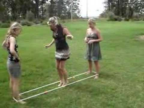 Elastic Game With The NZ Girls