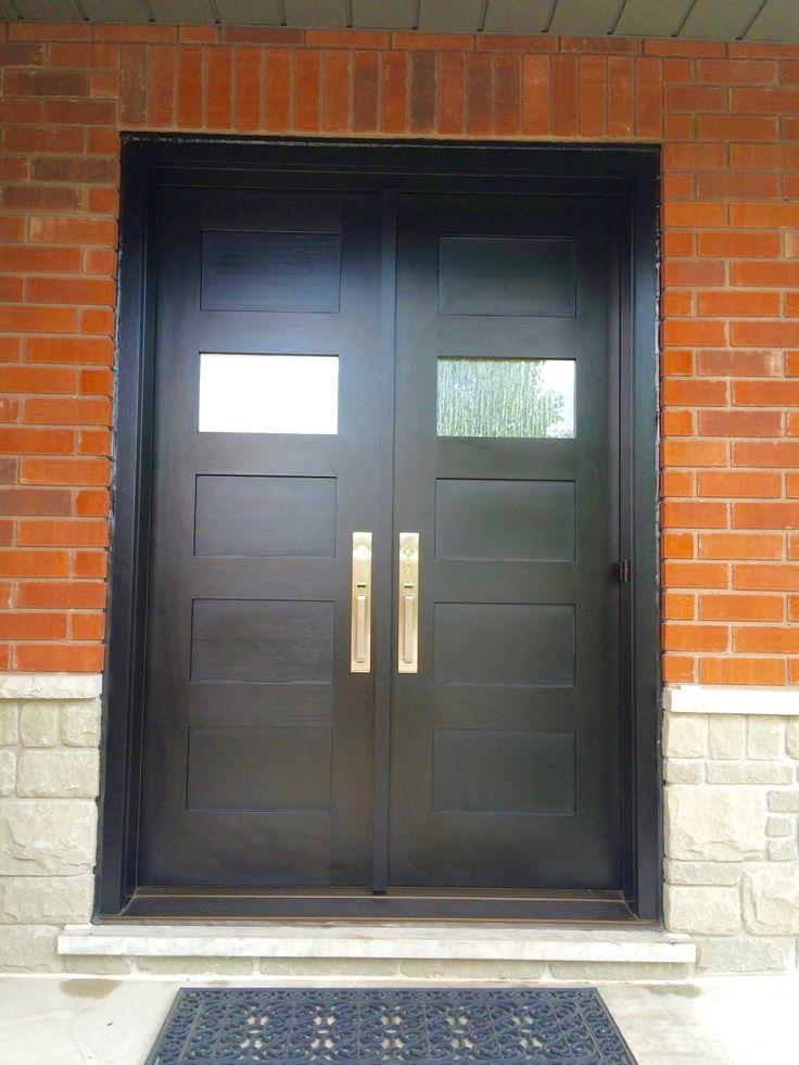 Amberwood Doors Inc: This Contemporary #Amberwood Custom #mahogany 4 Shaker
