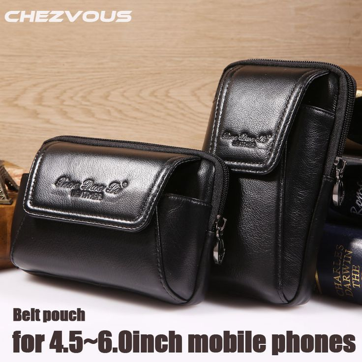 >> Click to Buy << Smartphone Belt Pouch Genuine Leather Vintage Case for Iphone 6 6s 7 Plus 5s 4 Belt Pouch Purse Waist Bag for 4.5''~6.0'' Phones #Affiliate