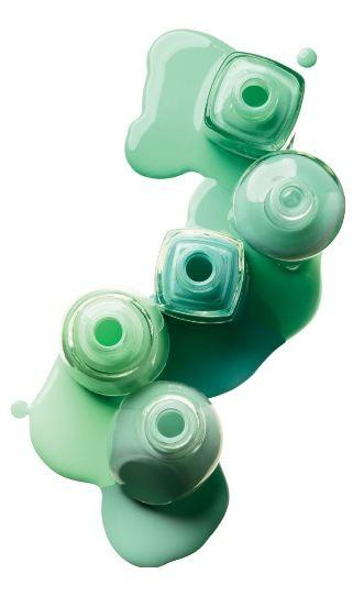 Aqua Turquoise Mint Green Mint Blue Seafoam Green Tiffany Blue Essie Nailpolish Mint Nail Polish