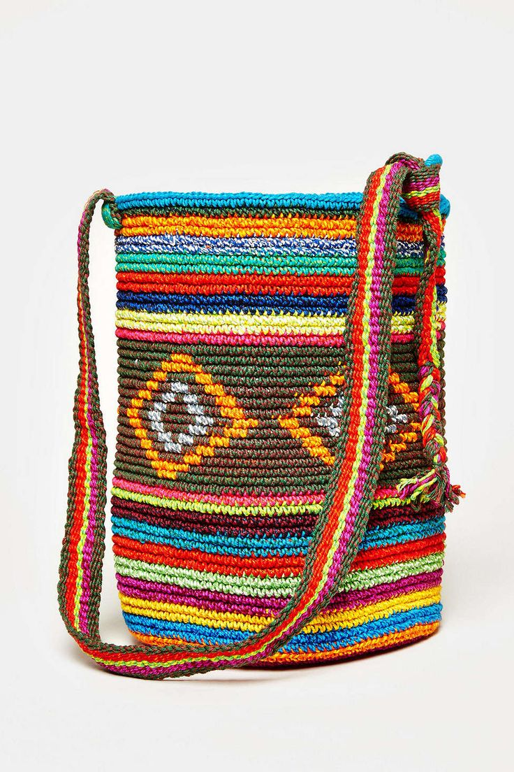 tapestry crochet Bag - to remind me that simple can be pretty