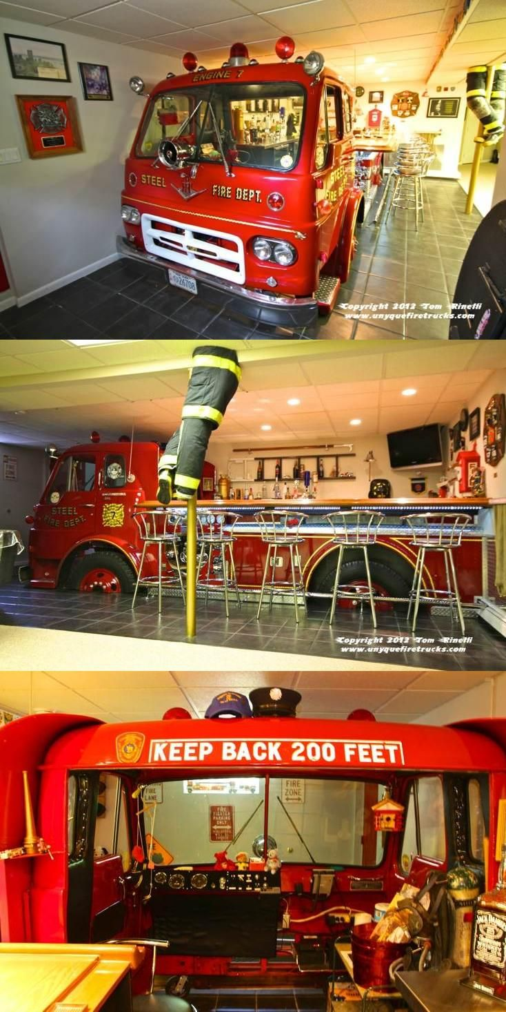 DIY: The Ultimate (Fire) Man Cave | Shared by LION