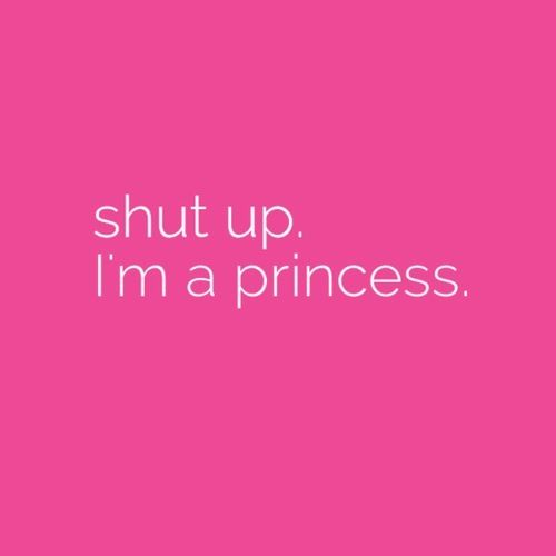 I'm a princess! Im sorry you had to find so late guys.