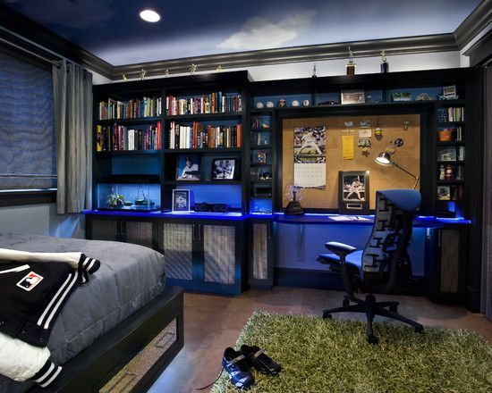 40 Teenage Boys Room Designs We Love Boy Bedroom Design Cool