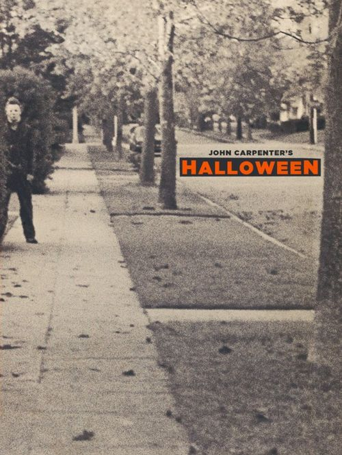 My favourite horror movie is Halloween. There's also eight other movies in the series. Although its my favourite, it always annoyed me when he would chase someone but he would never run but still end up killing them in the end.