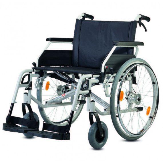 Silla de ruedas estandar s-eco 300 XL, con una capacidad de carga de hasta 170 Kg.