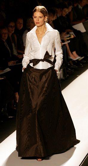 REU40162. / Carolina Herrera Shows at New York''s Fashion Week.