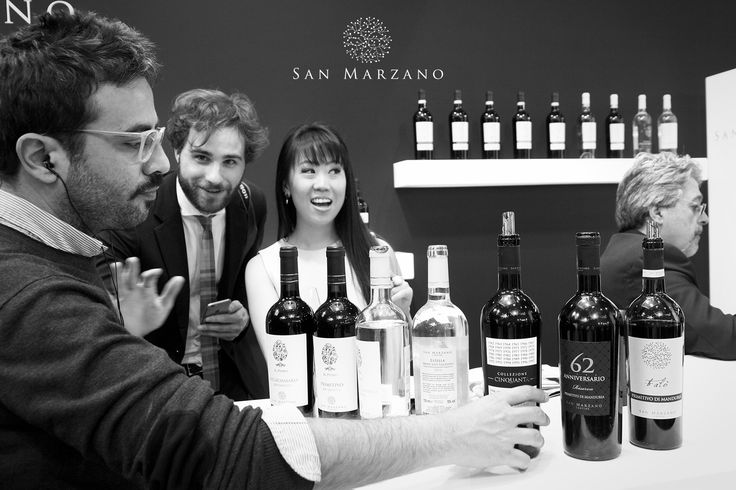 A moment with NYC journalist Leiti Hsu at Vinitaly 2015