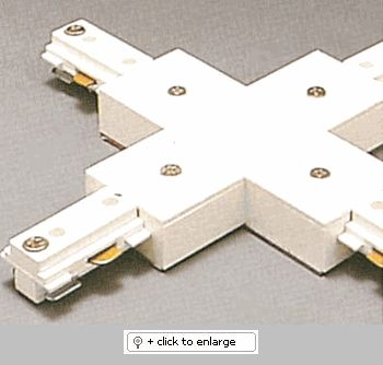 "TR2133 Two Circuit ""X"" Connector with Power Feed  Item# TR2133  Regular price: $35.00  Sale price: $25.50"