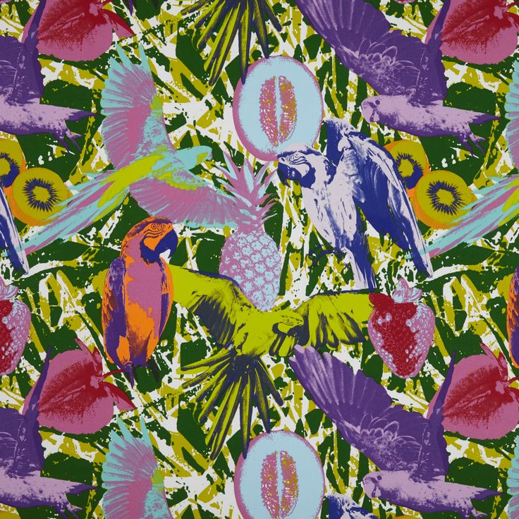 Martinique - Jungle fabric, from the Diva collection by Prestigious Textiles
