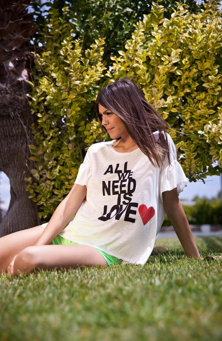 Τ-Shirt All we need Is Love