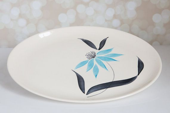 Stetson Creation Serving Platter by ClaraMaeCollectibles on Etsy, $15.00