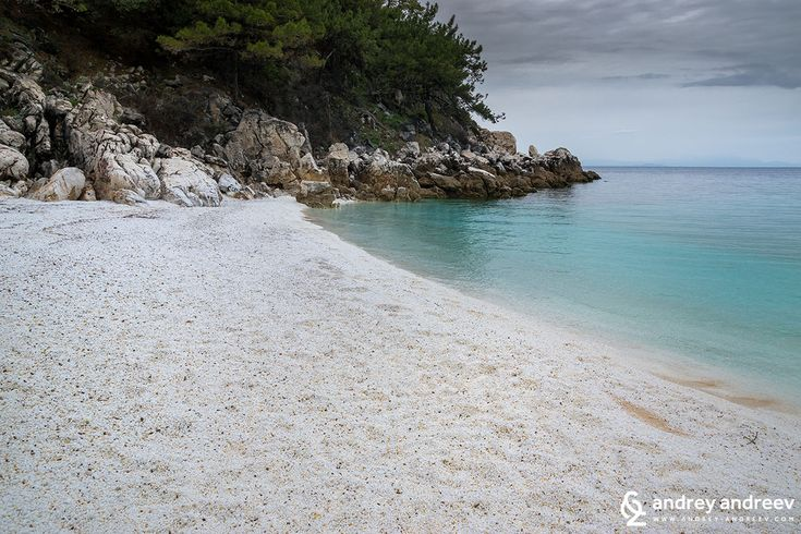 The White Beauty Of The Marble Beach Saliara Insel