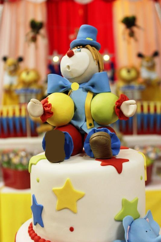 36 Best Clown Cake Images On Pinterest Circus Cakes Clown Cake
