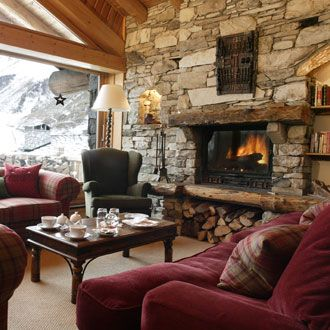 love stone fireplaces ski cabin pinterest log cabins 14369 | 5dd0e585f853362ee14369cec4ecde73