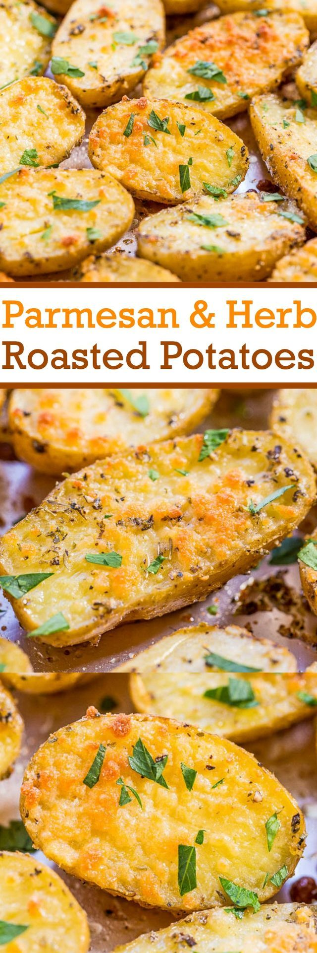 Growing up my mom used to roast potatoes at least three times a week. Now that I'm a mom I know why.  They're easy, inexpensive, hearty, they complement almost any dish, and warm potatoes are the ulti