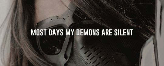 ''Most days my demons are silent...'' [1/4] / Bucky Barnes : The Winter Soldier