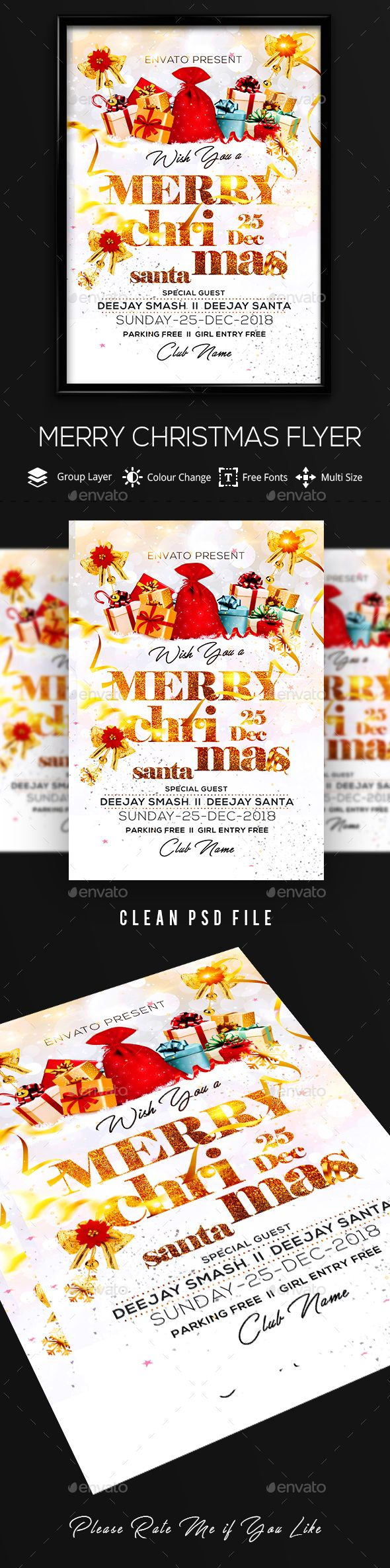 free ecard christmas party invitations%0A Christmas Flyer