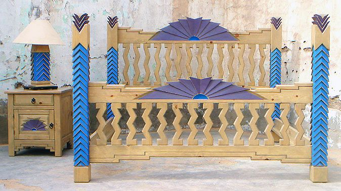 69 best furniture dreams images on pinterest painted for Native american furniture designs