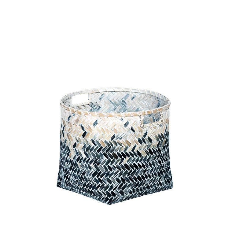Kosz bambusowy Gra'ddual M #kosz #koszyk #basket #bambus #bamboo #homemade #manufcture #design #rękodzieło #unique #limitededition #amiou #onemarket.pl
