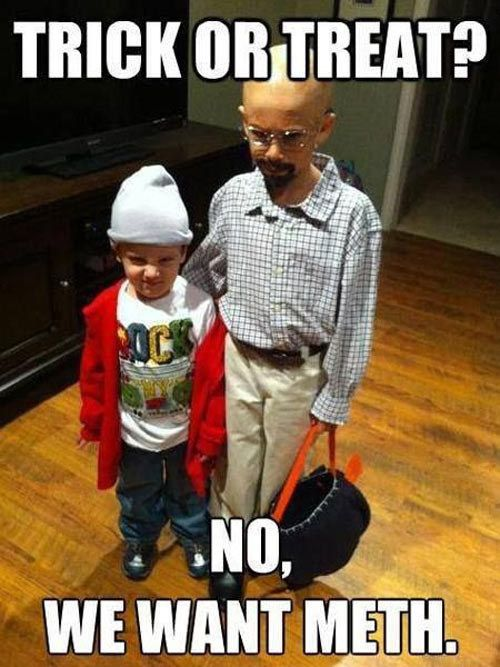 "These kids' Halloween costumes. | 37 Jokes Only ""Breaking Bad"" Fans Will Understand"