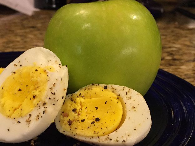 Egg and Apple Combo
