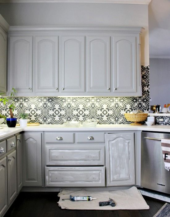 Best New House Bling Hiccups Grey Kitchen Cabinets 400 x 300
