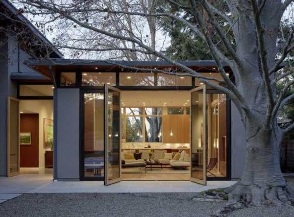 California LEED Platinum Home Centered On Three Living Pavilions