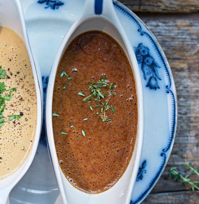 En klassiker till köttbullar eller söndagsstek. Med tillbehör som pressgurka och rårörda lingon får du middagsgästerna att jubla.