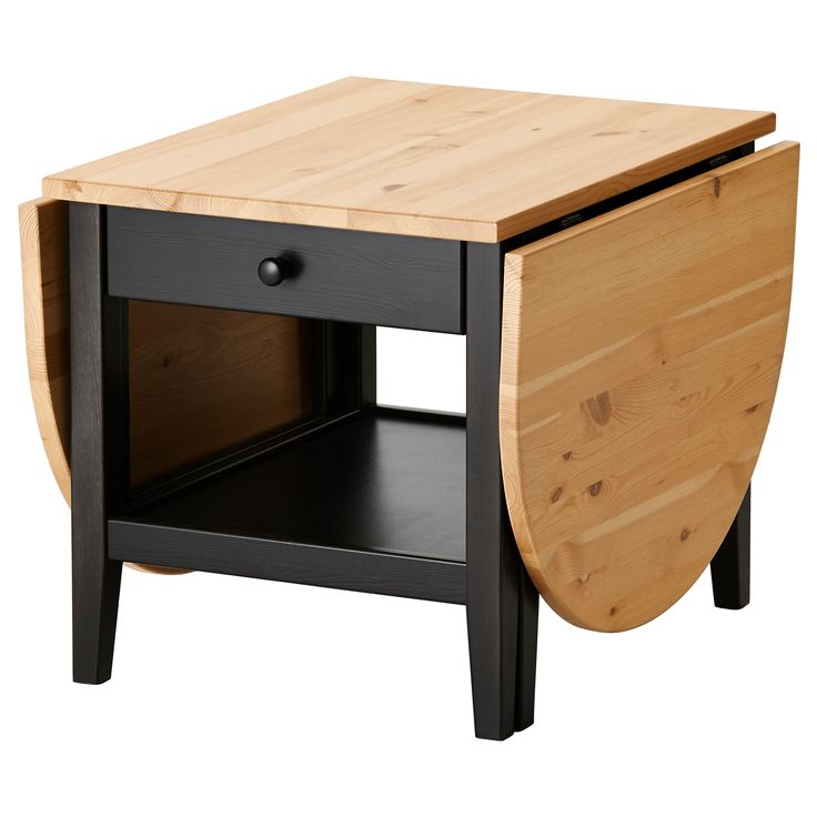 Arkelstorp coffee table black stains acrylics and - Table basse escamotable ikea ...