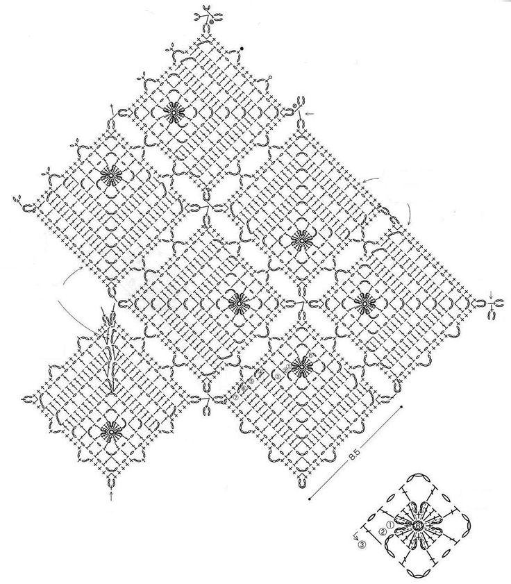 175 best images about crochet graph patterns on pinterest
