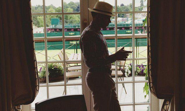 Lewis Hamilton vows to follow dress code at Wimbledon next year #DailyMail